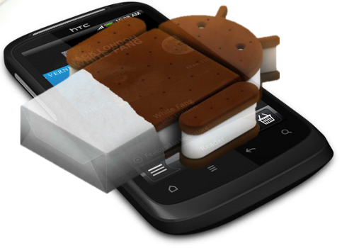 HTC Desire S уже можно обновить до Android 4.0 Ice Cream Sandwich