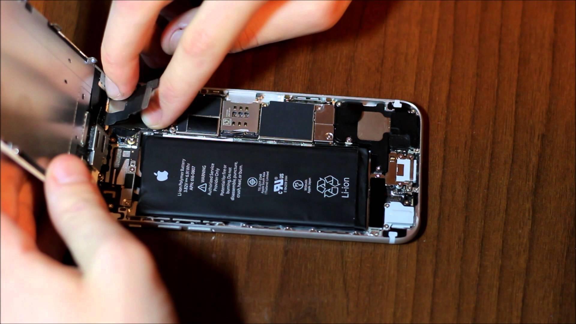 Типичные неисправности iPhone